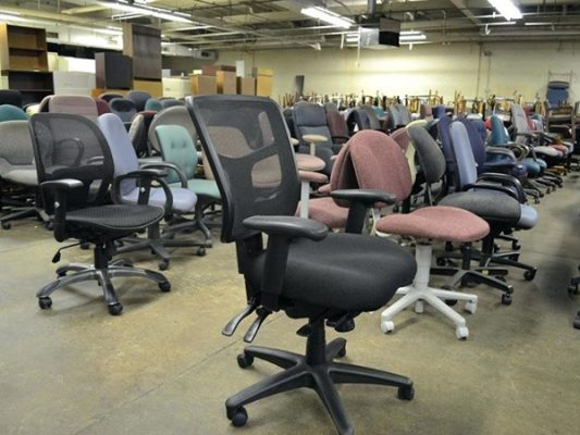 Ghế xoay văn phòng cũ giá rẻ