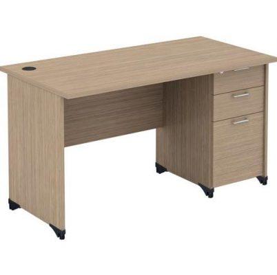 Bàn làm việc bằng gỗ đơn giản AT120SHL3D