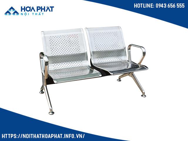 ghế băng chờ 2 chỗ inox PS02-2