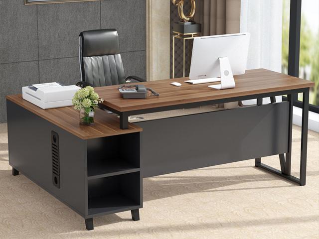 bàn giám đốc gỗ công nghiệp hiện đại